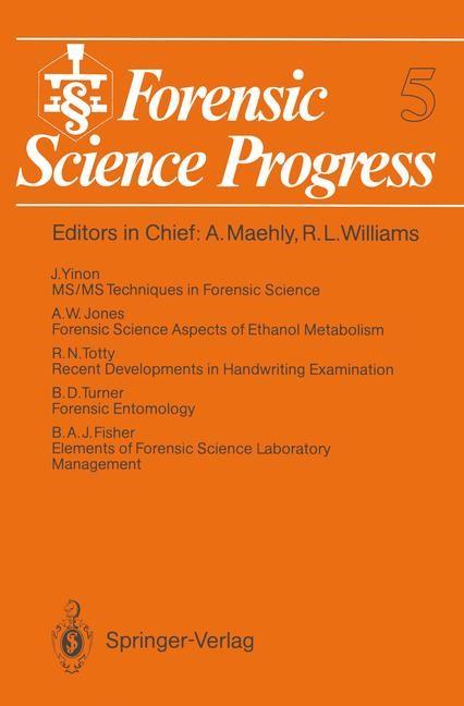 Abbildung von Forensic Science Progress   2012