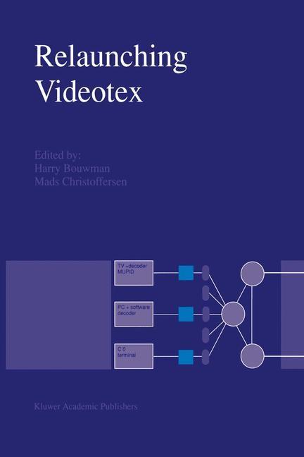 Relaunching Videotex | Bouwman / Christoffersen, 2012 | Buch (Cover)