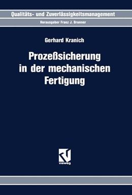 Abbildung von Kranich | Prozeßsicherung in der mechanischen Fertigung | 1994