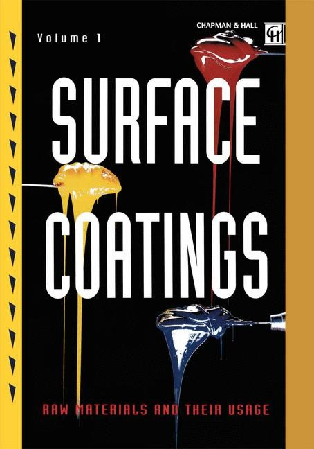 Surface Coatings | Oil and Colour Chemists' Association | 3rd ed. 1993, 2012 | Buch (Cover)