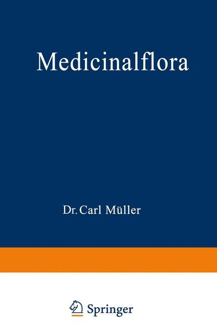 Medicinalflora   Müller, 1890   Buch (Cover)