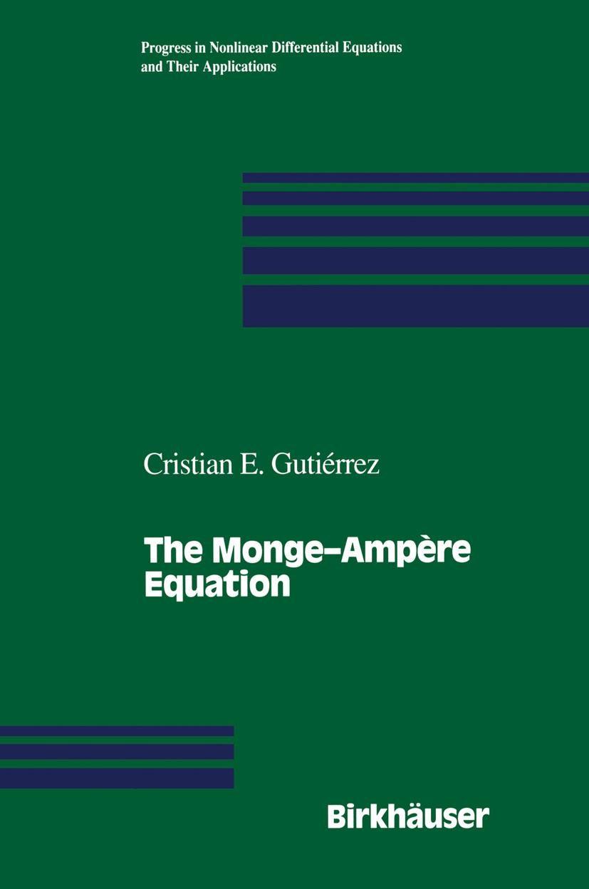 Abbildung von Gutierrez | The Monge—Ampère Equation | 2012