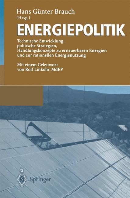 Energiepolitik | Brauch, 2012 | Buch (Cover)