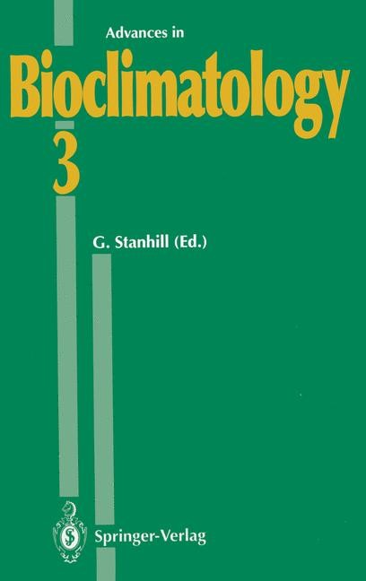 Advances in Bioclimatology, 2012 | Buch (Cover)