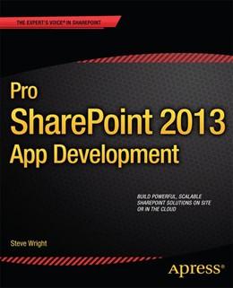 Abbildung von Wright | Pro SharePoint 2013 App Development | 1st ed. | 2013