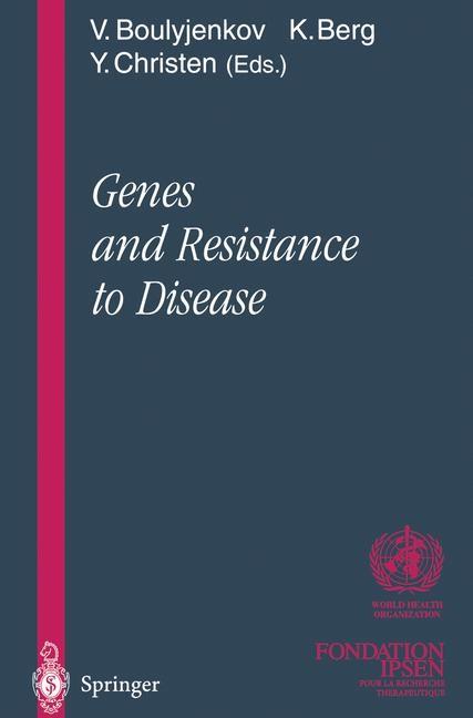 Abbildung von Boulyjenkov / Berg / Christen | Genes and Resistance to Disease | 2012