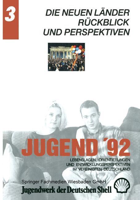 Jugend '92 | Jugendwerk der Deutschen Shell, 2012 | Buch (Cover)