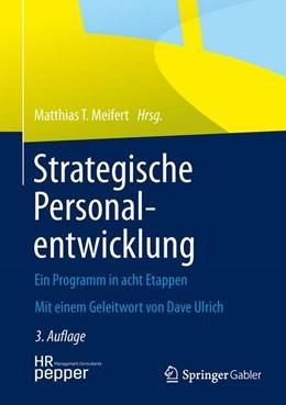 Abbildung von Meifert | Strategische Personalentwicklung | 3., korrigierte Auflage | 2013 | Ein Programm in acht Etappen