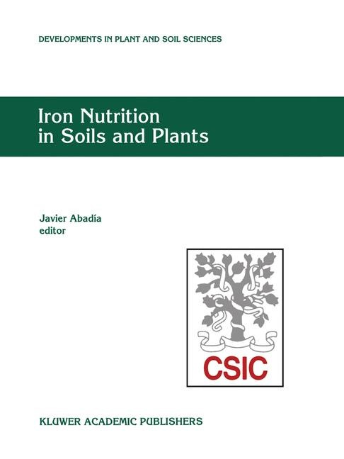 Iron Nutrition in Soils and Plants | Abadía, 2012 | Buch (Cover)
