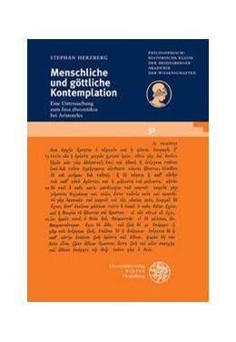 Abbildung von Herzberg | Menschliche und göttliche Kontemplation | 1. Auflage | 2013 | 51 | beck-shop.de