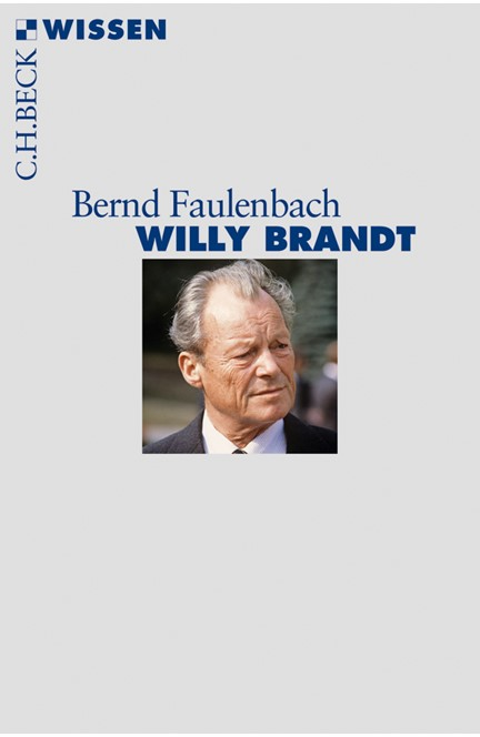 Cover: Bernd Faulenbach, Willy Brandt