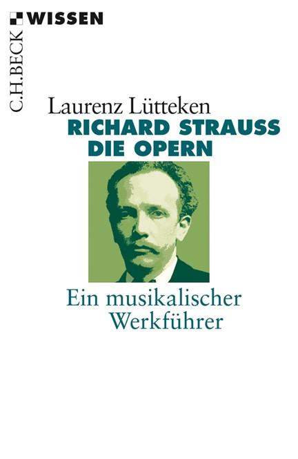 Cover: Laurenz Lütteken, Richard Strauss