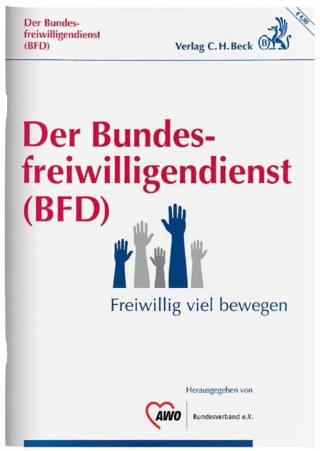 Der Bundesfreiwilligendienst (BFD)   Buch (Cover)