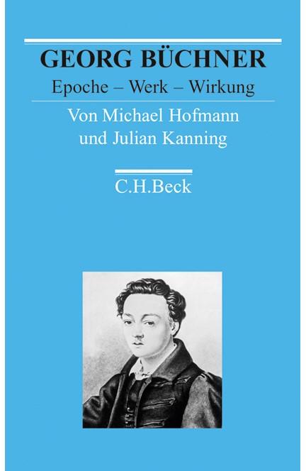 Cover: Julian Kanning|Michael Hofmann, Georg Büchner