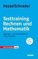 Testtraining  Rechnen und Mathematik | Hesse / Schrader, 2013 | Buch (Cover)