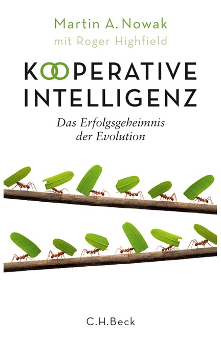 Cover: Martin A. Nowak|Roger Highfield, Kooperative Intelligenz