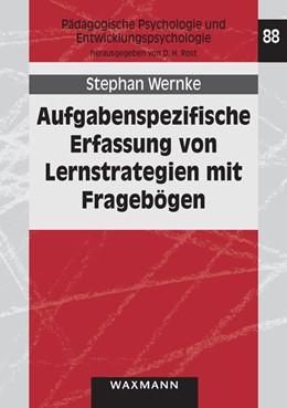 Abbildung von Wernke | Aufgabenspezifische Erfassung von Lernstrategien mit Fragebögen | 2013 | Eine empirische Untersuchung m... | 88