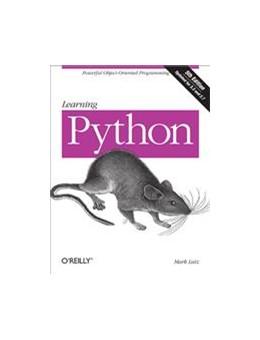 Abbildung von Mark Lutz | Learning Python | 2013