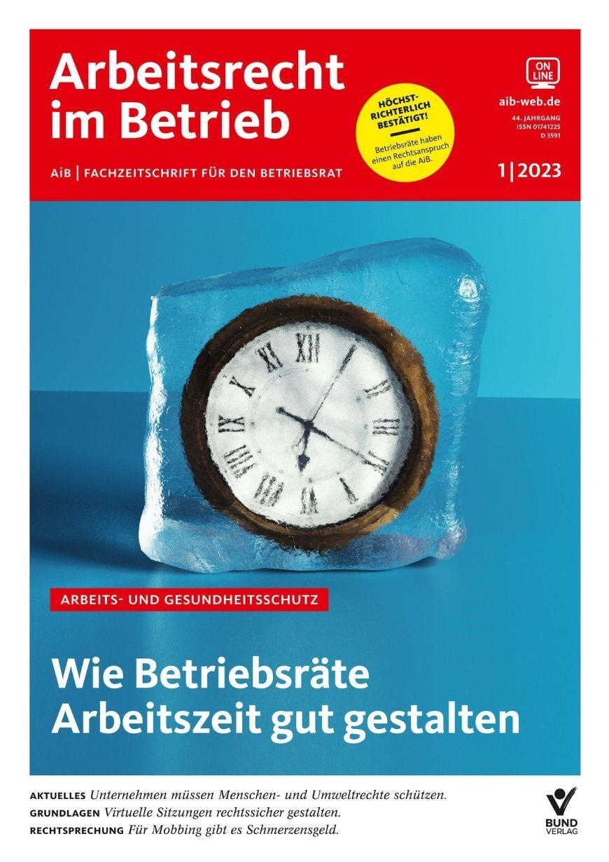 AiB • Arbeitsrecht im Betrieb | 39. Jahrgang, 2013 (Cover)