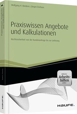 Abbildung von Erichsen / Riederer | Praxiswissen Angebote und Kalkulationen | 1. Auflage | 2014 | 01272 | beck-shop.de