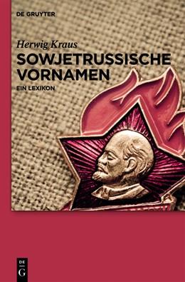 Abbildung von Kraus | Sowjetrussische Vornamen | 2013 | Ein Lexikon