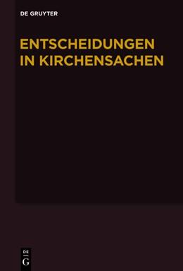 Abbildung von Muckel / Baldus | Entscheidungen in Kirchensachen seit 1946 | 2013 | Bd. 54: 1.7.-31.12.2009