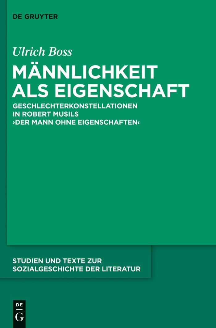 Männlichkeit als Eigenschaft | Boss, 2013 | Buch (Cover)