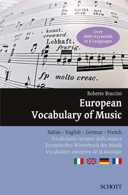 European Vocabulary of Music | Braccini, 2013 | Buch (Cover)