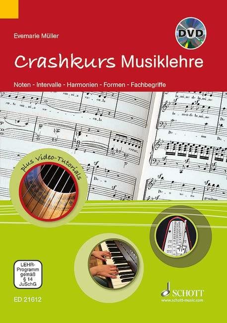 Crashkurs Musiklehre | Müller, 2013 | Buch (Cover)