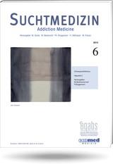 Suchtmedizin | 21. Jahrgang, 2013 (Cover)
