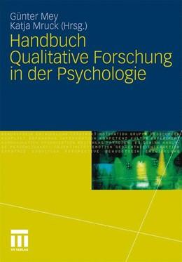 Abbildung von Mey / Mruck | Handbuch Qualitative Forschung in der Psychologie | 2010