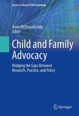 Abbildung von McDonald Culp | Child and Family Advocacy | 2013 | Bridging the Gaps Between Rese...