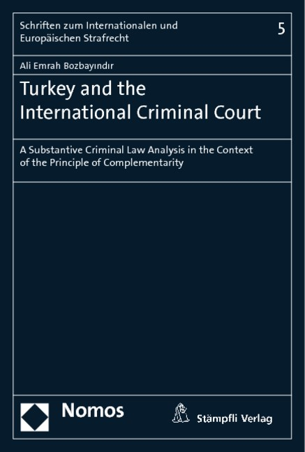 Turkey and the International Criminal Court | Bozbayindir, 2013 | Buch (Cover)