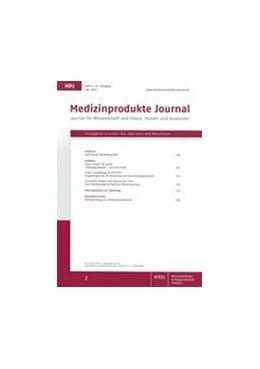 Abbildung von Schorn (Hrsg.) | Medizinprodukte Journal | 26. Jahrgang | 2019 | Journal für Wissenschaft und P...