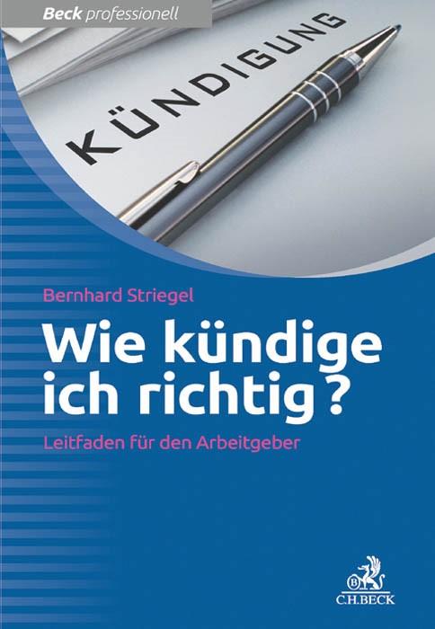 Wie kündige ich richtig? | Striegel, 2014 | Buch (Cover)