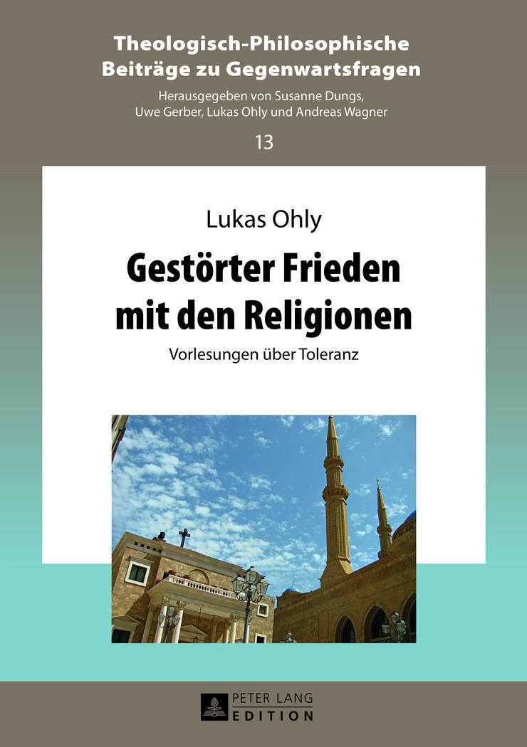 Gestörter Frieden mit den Religionen | Ohly, 2013 | Buch (Cover)