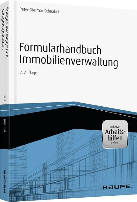 Formularhandbuch Immobilienverwaltung | Schnabel, 2014 (Cover)