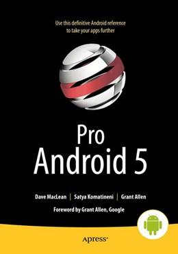 Abbildung von MacLean / Komatineni   Pro Android 5   5. Auflage   2015   beck-shop.de