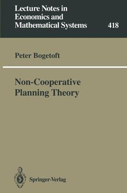 Abbildung von Bogetoft   Non-Cooperative Planning Theory   1994   418