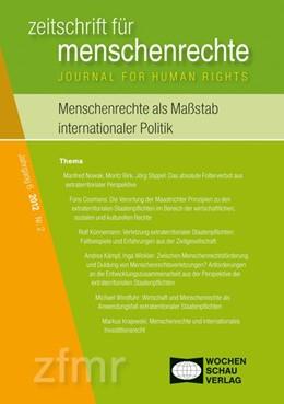 Abbildung von Debus / Kreide | Menschenrechte als Maßstab internationaler Politik | 1. Auflage | 2013 | beck-shop.de