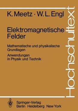 Abbildung von Meetz / Engl | Elektromagnetische Felder | 1. Auflage | 1980 | beck-shop.de
