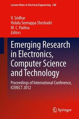 Abbildung von Sridhar / Sheshadri / Padma | Emerging Research in Electronics, Computer Science and Technology | 2013 | Proceedings of International C... | 248