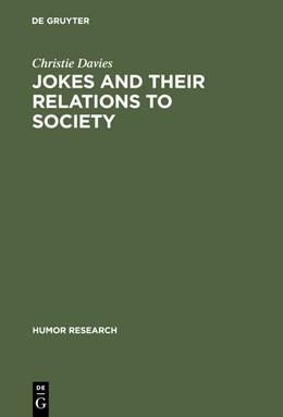 Abbildung von Davies | Jokes and their Relations to Society | Reprint 2012 | 2012