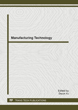 Abbildung von Xu | Manufacturing Technology | 2013 | Selected, peer reviewed papers... | Volume 630
