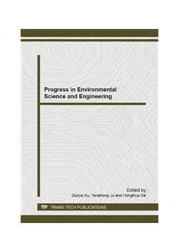 Abbildung von Xu / Ju / Ge | Progress in Environmental Science and Engineering | 2013 | Selected, peer reviewed papers... | Volumes 610-613