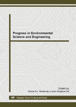 Abbildung von Xu / Ju / Ge | Progress in Environmental Science and Engineering | 2013 | Selected, peer reviewed papers... | Volumes 610-613