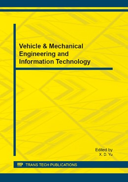 Abbildung von Yu | Vehicle & Mechanical Engineering and Information Technology | 2013 | Selected, peer reviewed papers... | Volume 267