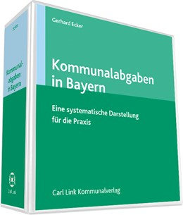 Abbildung von Ecker (Hrsg.) | Kommunalabgaben in Bayern | 1. Auflage | 2019 | beck-shop.de