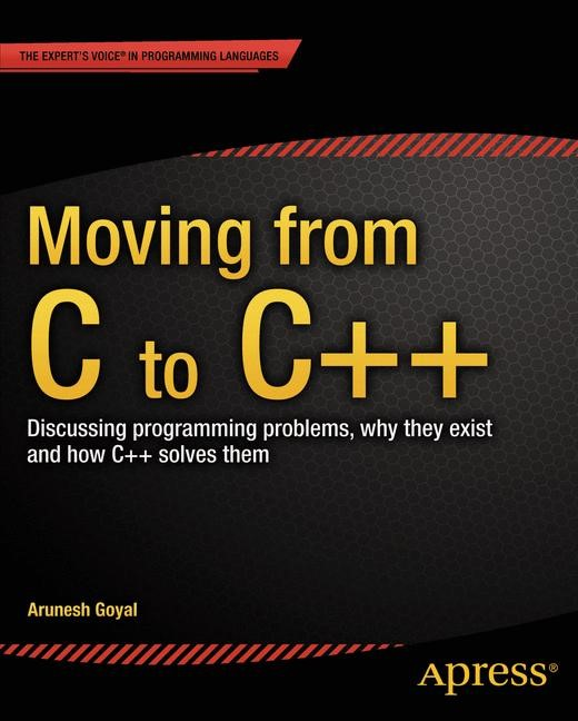 Moving from C to C++, 2013 | Buch (Cover)