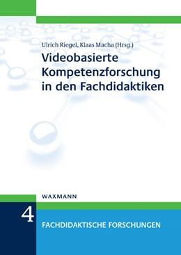 Abbildung von Riegel / Macha | Videobasierte Kompetenzforschung in den Fachdidaktiken | 2013 | 4